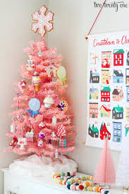 Modern Retro Pink Christmas Design Ideas Of Light Up Tree Toppers