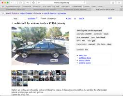 100 Miami Craigslist Cars And Trucks By Owner Official 11th Gen Corolla IM Chat Thread Page 48 Toyota Nation
