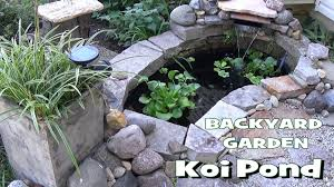 Small Backyard Garden Koi & Goldfish Pond - Update (Part 1 Of 2 ... Ese Zen Gardens With Home Garden Pond Design 2017 Small Koi Garden Ponds And Waterfalls Ideas Youtube Small Backyard Design Plans Abreudme Backyard Ponds 25 Beautiful On Pinterest Fish Goldfish Update Part 1 Of 2 Koi In For Water Features Information On How To Build A In Your Indoor Fish Waterfall Ideas Eadda Backyards Terrific