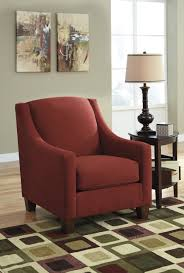 The Maier Red Accent Chair