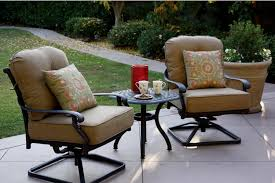 Darlee Patio Furniture Quality by Patio Furniture Cast Aluminum Deep Seating Rocker Set Swivel Club