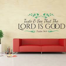 Psalm 348 Bible Verse Wall Decal