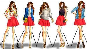 Fashion Design Drawing 2017