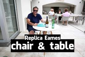 Replica Eames Table & Chair
