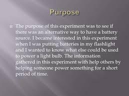 citrus battery science fair project