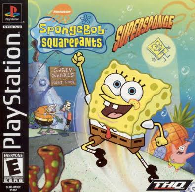 Spongebob Squarepants: Super Sponge - PlayStation 1