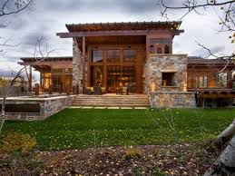 Rustic Home Exteriors Far Fetched Modern Farmhousee Plan Small Mountain Floor Plans Exterior With Amazing M
