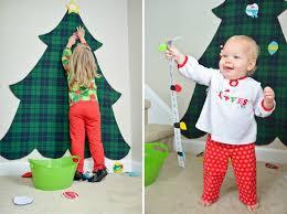 DIY Felt Christmas Tree For Kids
