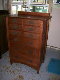 Arts and Crafts Dressers and Nightstands