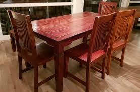 sheesham tisch 4 stühle sitzbank esstisch esszimmer cuba kolonial