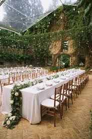 Chic Rustic Garden Wedding Reception Ideas