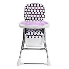 Oxo Tot Sprout Chair Amazon by Amazon Com Evenflo Compact Fold High Chair Polka Dottie Purple