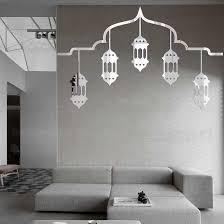 spiegel aufkleber raum dekoration aufkleber wohnzimmer