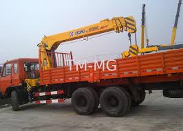 100 Truck Mounted Boom Lift XCMG Loader Crane 5 Ton Ing Crane