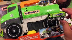 Giant Matchbox Truck Kids Street Sweeper - Moana Maui Makes Kid Pick ... Matchbox Garbage Truck Large Walmartcom Amazoncom Power Launcher Toys Games Matchbox Garbage Truck With Sounds Youtube Largescale Recycling 15 Amazonca Why Did I Buy That Toy 08 Trucks At Blaster Mattel Stinky The R0858 Lot48 6 Matchboxstreet Streakmaintence Truckgarbage Truck Lrg Amazon Exclusive Online From Fishpondcomau Upc 7084796902 Real Talking Mini 2017 Gulper 18125 Black Green