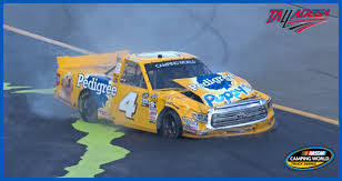 100 Nascar Truck Race Results Todd Gilliland Goes For A Wild Talladega Ride NASCARcom