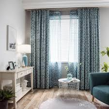 großhandel blackout vorhang für wohnzimmer esszimmer nordic geometric schlafzimmer küche fenster druck blackout vorhänge fertig cortinas fenster