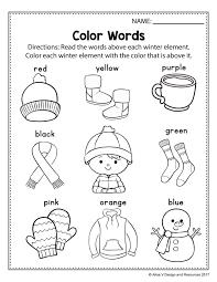Free Winter Themed Printable Alphabet Worksheets For Preschool