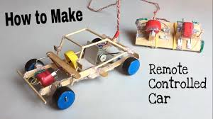 How To Build A Simple Wooden Toy Box by How To Make A Car With Remote Controlled Out Of Popsicle