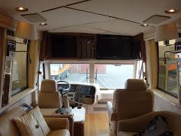 1998 Marathon Prevost Conversion Interior Remodel And TV Upgrades At OCRV 3