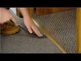 trim molding how to replace carpet trim