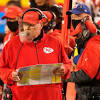 Report: Chiefs HC Andy Reid's face shield to be equipped with ...