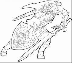 The Legend Of Zelda Skyward Sword Coloring Pages