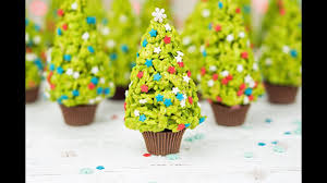 Rice Krispie Christmas Tree Pops by Christmas Tree Rice Krispies Treats Youtube