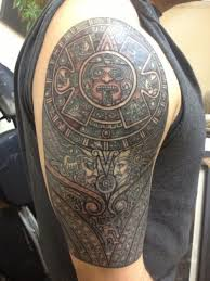 Aztec Mayan Tattoo