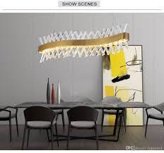 großhandel moderne led kronleuchter beleuchtung luxus esszimmer gold kristall kronleuchter kücheninsel suspension lüster de cristal topmeed 407 8
