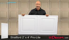 Vinyl Ceiling Tiles 2x2 by Stratford Vinyl 2x4 Ceiling Tile White Youtube