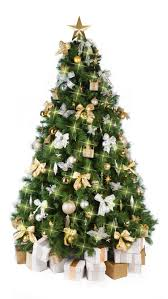 Christmas Tree Gold Decorations