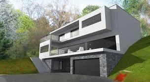 maison en cube moderne maison individuelle contemporaine architecte ocube maisons d