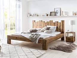 woodkings holz bett 180x200 queensburgh doppelbett recycelte pinie holz rustikal massiv schlafzimmer massivholz design ehebett balkenbett naturmöbel