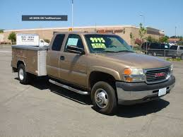 2001 Gmc Sierra 3500hd Dually 4x4 - Extended Cab - Utility Truck -