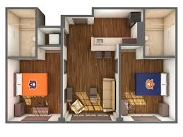 One Bedroom Apartments In Auburn Al by South Donahue Hall Communities Housing And Residence Life