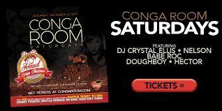 conga room your experience awaits