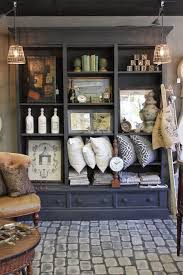 French Store Shelves With Great Accessorizing Ideas