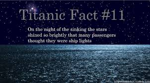 James Horner The Sinking by Titanic Fact 11 On The Night Of The Sinking The Stars Shined So