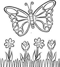 Butterfly Coloring Page Swish Download This Sweet Printable