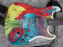 Strat Paint Job By Epstein On DeviantArt