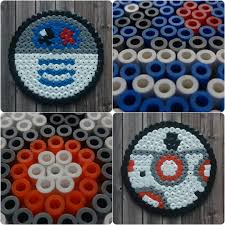 Halloween Hama Bead Patterns by R2 D2 And Bb 8 Coaster Perler Hama Beads Beadsmeetgeeks Hama