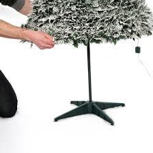 6 Ft Flocked Christmas Tree Uk by 6ft Pre Lit Snow Flocked Pop Up Christmas Tree 200 Warm White Lights