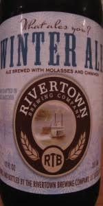 Rivertown Pumpkin Ale by Winter Ale Rivertown Brewery U0026 Barrel House Beeradvocate