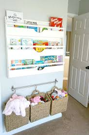 Space Saving Kids Room Bookshelves And Baskets Hung For Storage Rooms To Go