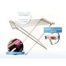 étendoir étendage linge electrique chauffant séchage rapide aluminium