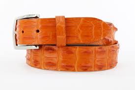 handmade genuine salt water crocodile golf belts patrick gibbons