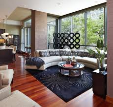 curved sectional sofa ideas living room contemporary with coffee