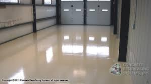 truck service bay epoxy floor concrete resurfacing systems inc