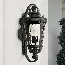 casa marseille black 36 high large outdoor wall light u4088
